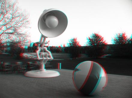 Luxo Jr. in 3D