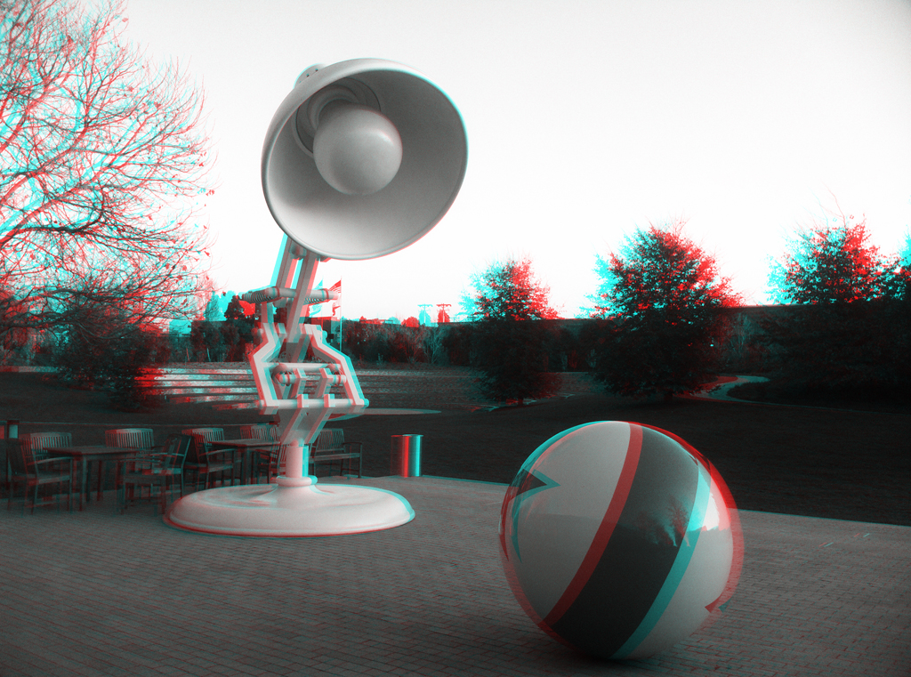 Luxo Jr. in 3D
