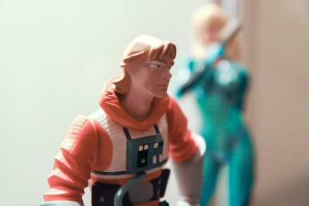 Luke Skywalker and Samus Aran