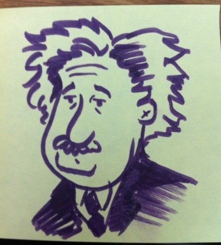 Hero of Geek Myth #1: Albert Einstein, The Man Who Invented Time.