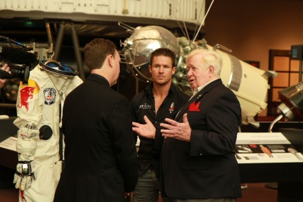 Felix Baumgartner & Joe Kittinger talk about Red Bull Stratos