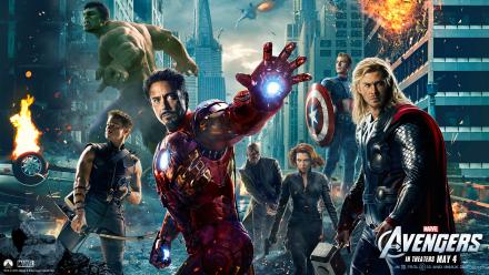 The Avengers Opens Huge