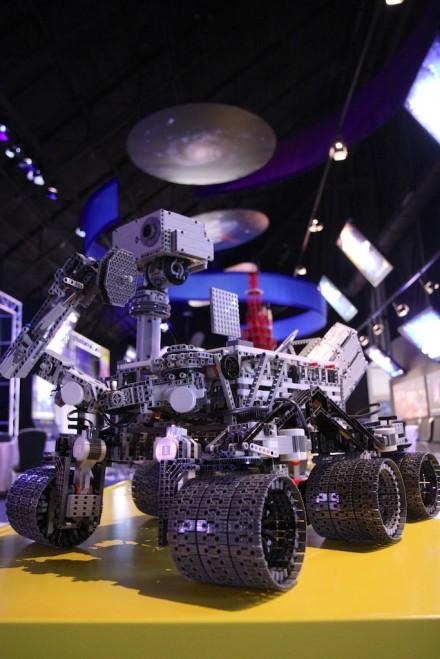 NASA MSL Curiosity Rover Lego Robot