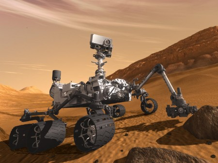 NASA MSL Rover