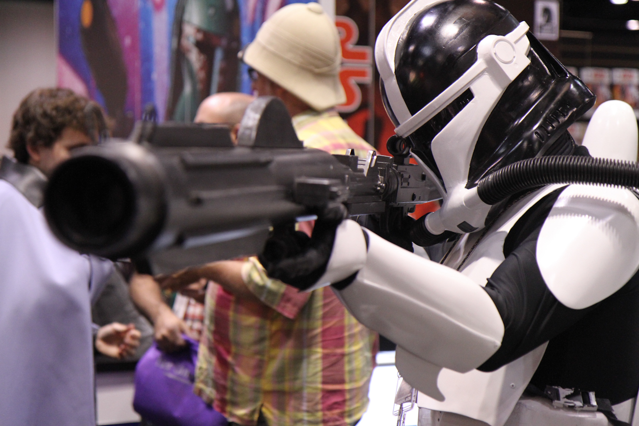 This Star Wars Celebration VI Gallery Includes Stormtrooper Cosplay, Star Wars Masks, and Lightsaber Fights!