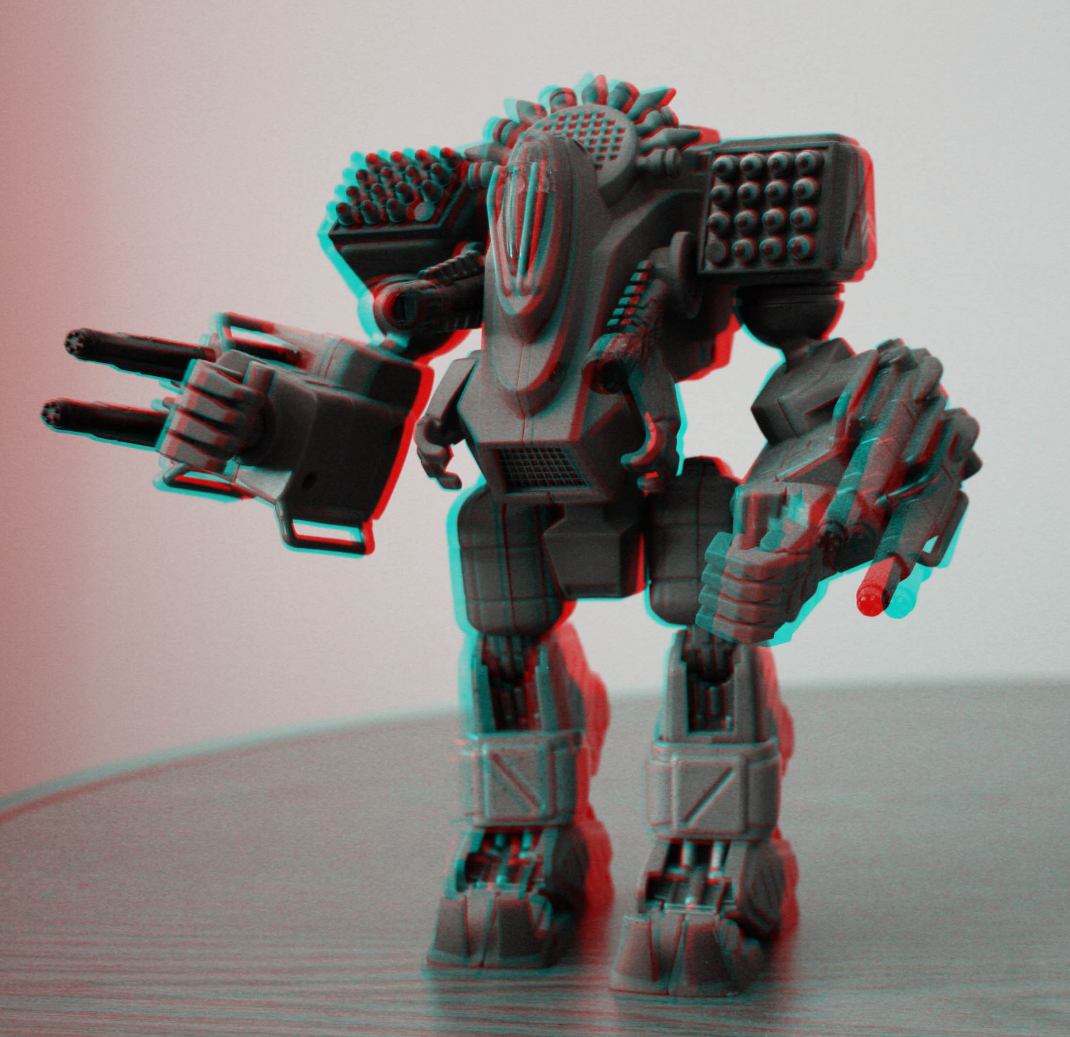 3D Anaglyph of Jupiter Mech