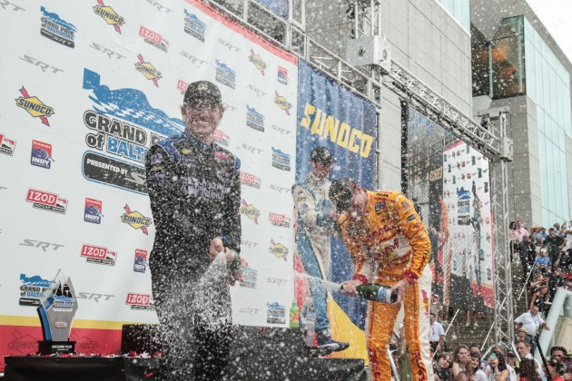 Ryan Hunter-Reay Wins the 2012 Grand Prix of Baltimore – IZOD IndyCar Series Race Results