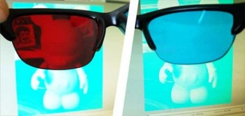 how to make 3d glasses with cellophane