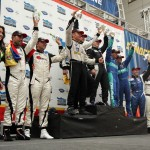 Grand Prix of Baltimore ALMS Winners on Sunoco Victory Stage