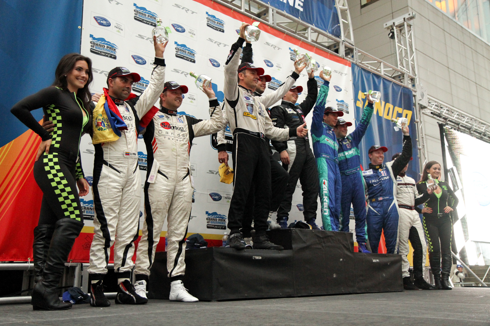 Grand Prix of Baltimore – American Le Mans Series Race Unofficial Results
