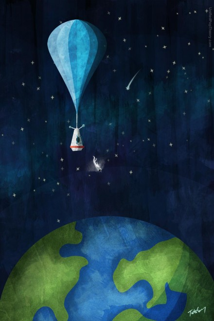 Returning from the Edge of Space, A Tribute to Felix Baumgartner