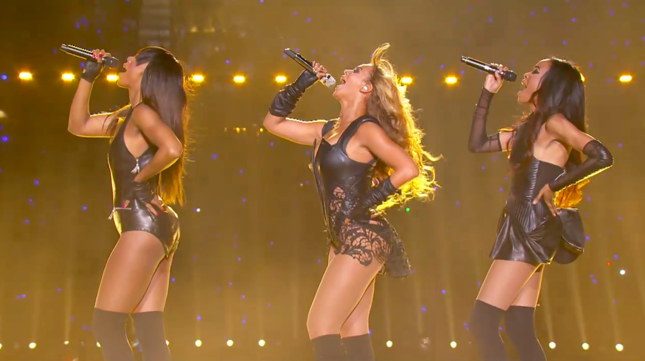Destiny's Child Reunion at Super Bowl XLVII