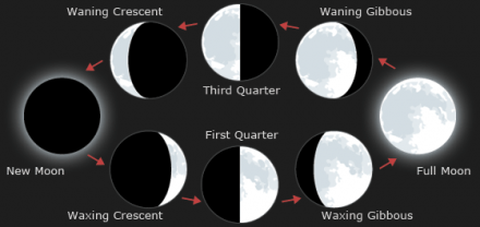 Moon and Night Photo Calculator