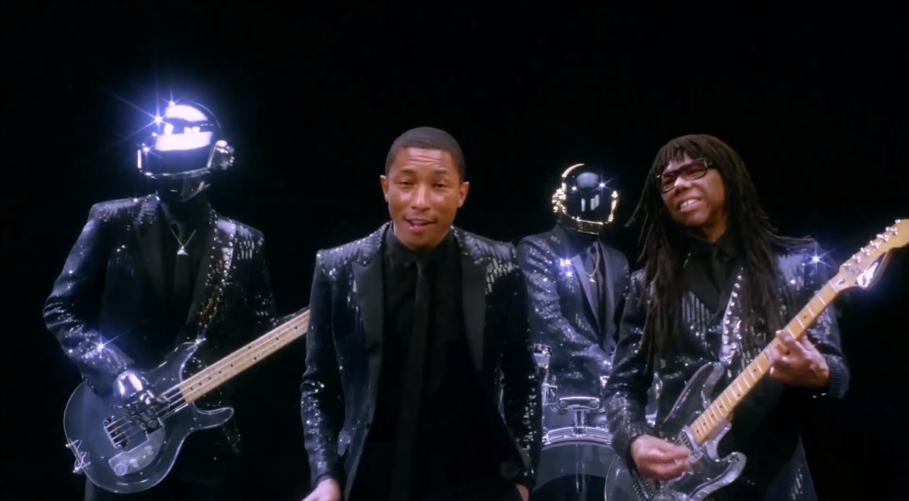 "New Daft Punk Single ""Get Lucky"" feat. Pharrell Williams"