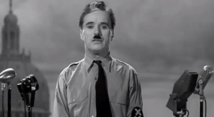 The Great Dictator by Charlie Chaplin