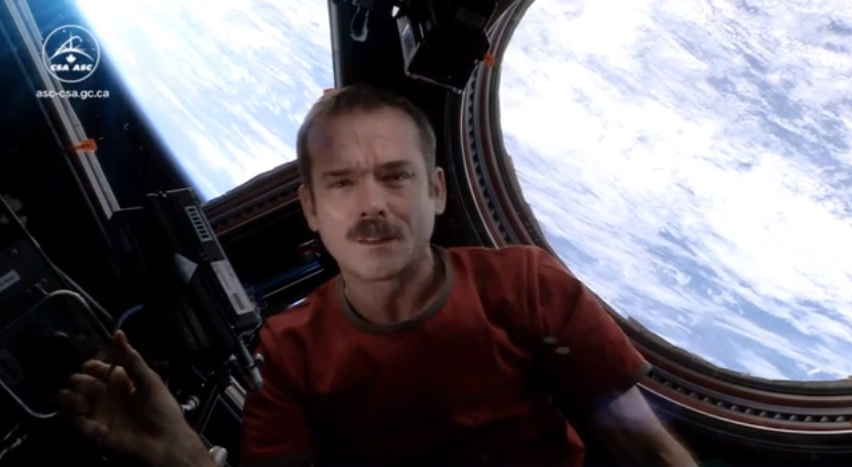 Space Oddity Sung By International Space Station Commander Chris Hadfield