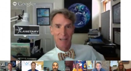 """We The Geeks"" Google+ White House Hangout on Asteroids"