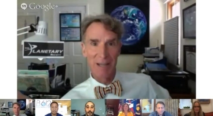 """""""We The Geeks"""" Google+ White House Hangout on Asteroids"""