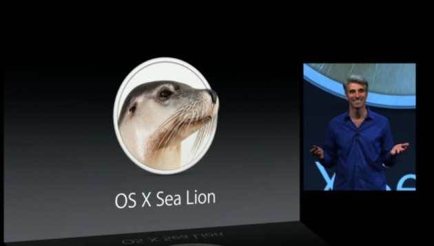 Apple Announces OS X Sea Lion!