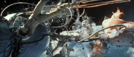 Gravity Trailer Shows the Destruction of the International Space Station