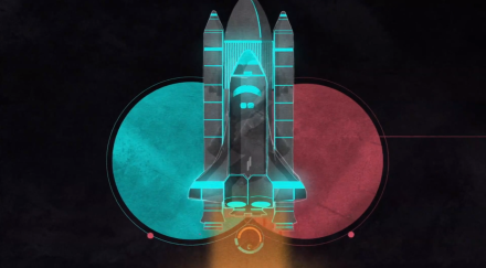 The Tripped Out Music Video for Ilium by Alex Metric Stars the Space Shuttle and Astronauts