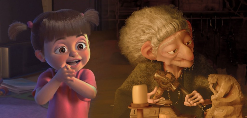 Boo Is The Witch In Brave