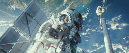 "The Space Shuttle is Silently Obliterated in the latest Gravity ""Detached"" Movie Clip"