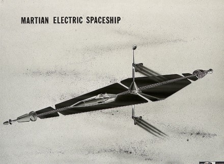 Martian Electric Spaceship Circa 1962