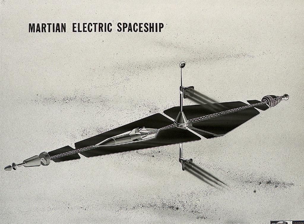 Martian Electric Spaceship Circa 1962