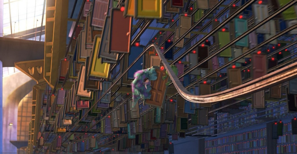 "According to Pixar Theory, ""Monsters, Inc"" introduces the concept of time travel and teleportation."
