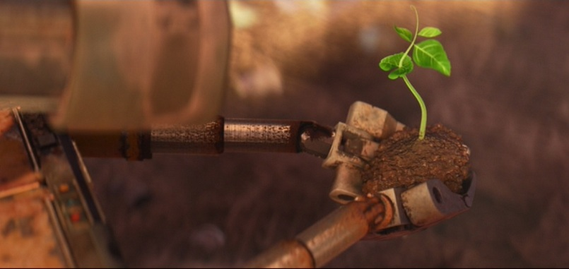 Wall-E paves the way for life to begin again.
