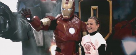 Why 16-year old Jackson Laverman Made an Iron Man Suit