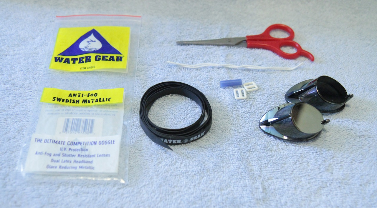 Swedish Goggle Plastic Bag Kit