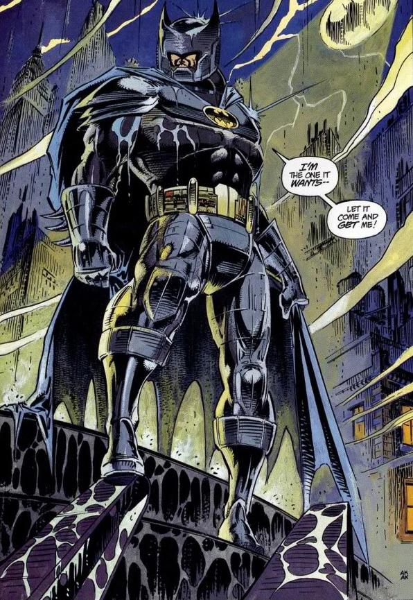 Batman versus Predator Batsuit