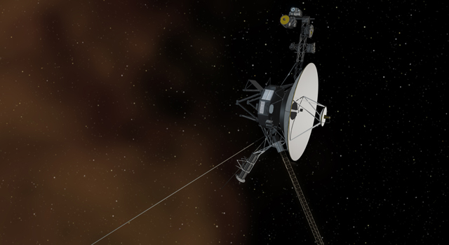 Artist Concept of Voyager 1 Entering The Space Between Stars