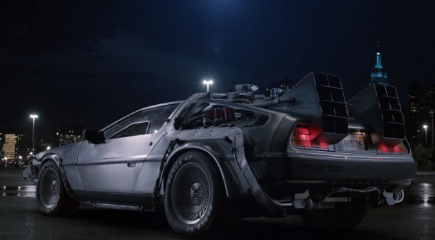 GE Uses Back to the Future DeLorean in a Commercial to Talk About Turbine-Generated Power