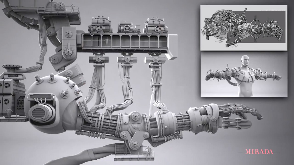 Mirada Studios Before and After Visual Effects Reel Explains How Jaeger Mechas Are Made