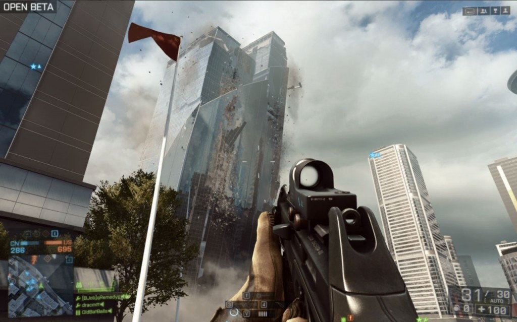 Battlefield 4 Beta Fall of the Skyscraper