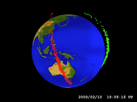 Two Satellites Collided Over Siberia in 2009