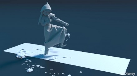 A Material Point Method For Snow Simulation – How Snow is Made for Disney's Frozen