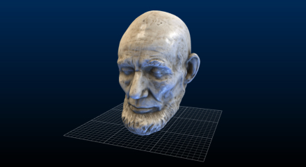 Smithsonian Institute Releases Online 3D Models Including This Stunning Lincoln Life Mask