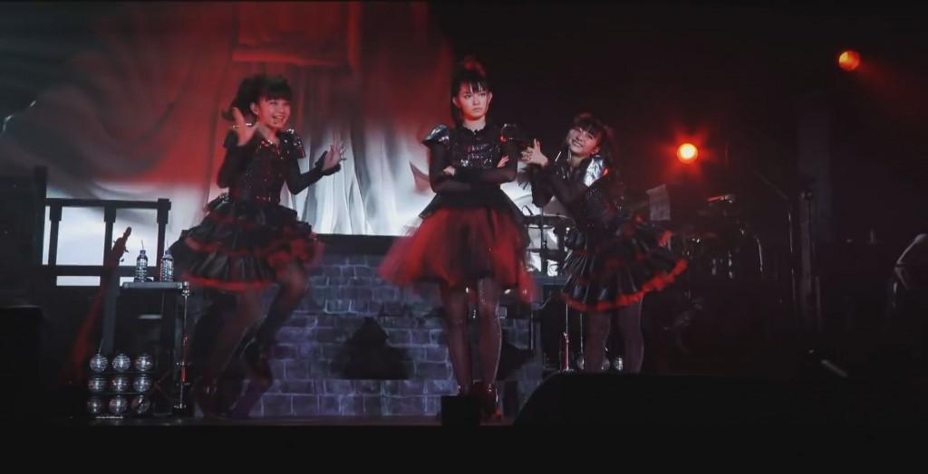 Baby Metal - Suzuka Nakamoto, Moa Kikuchi, and Yui Mizuno