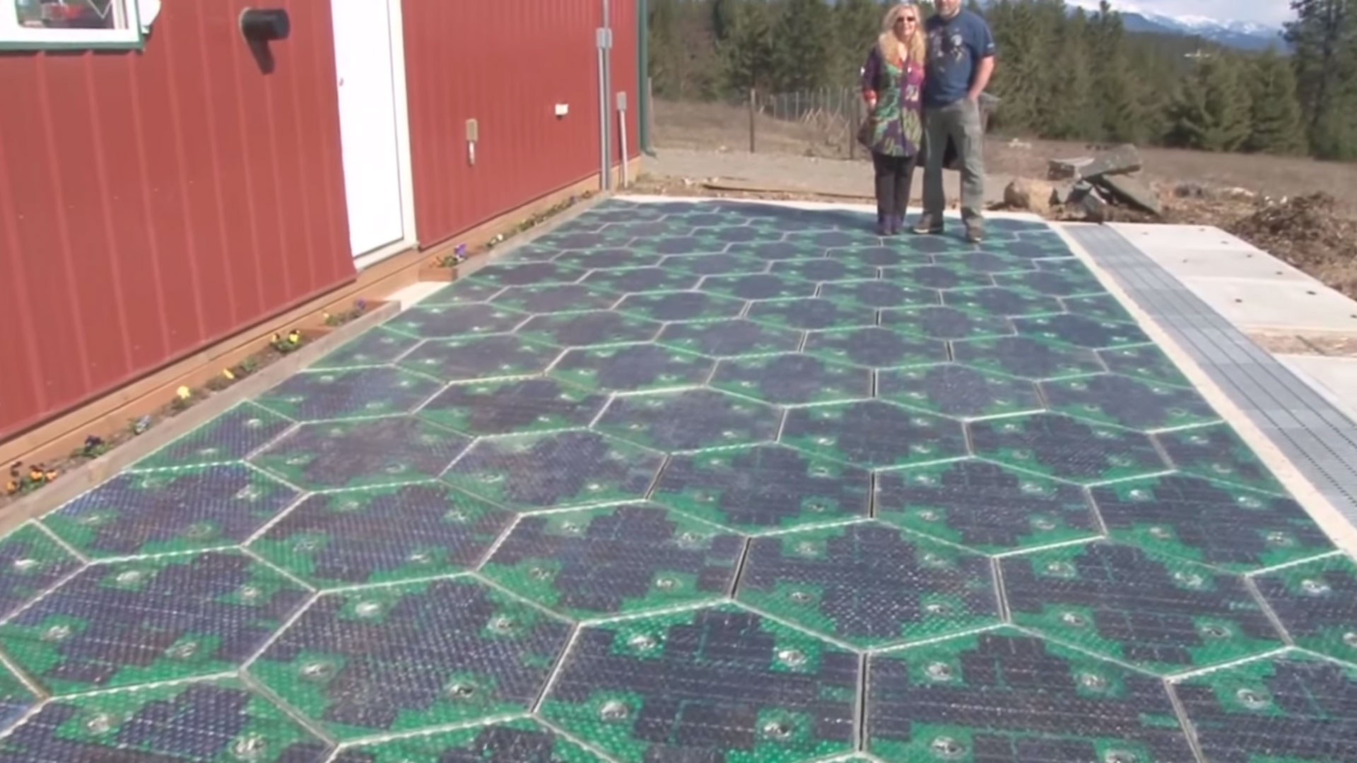Solar Roadways Test
