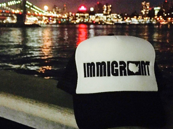Immigrant Apparel NYC Night