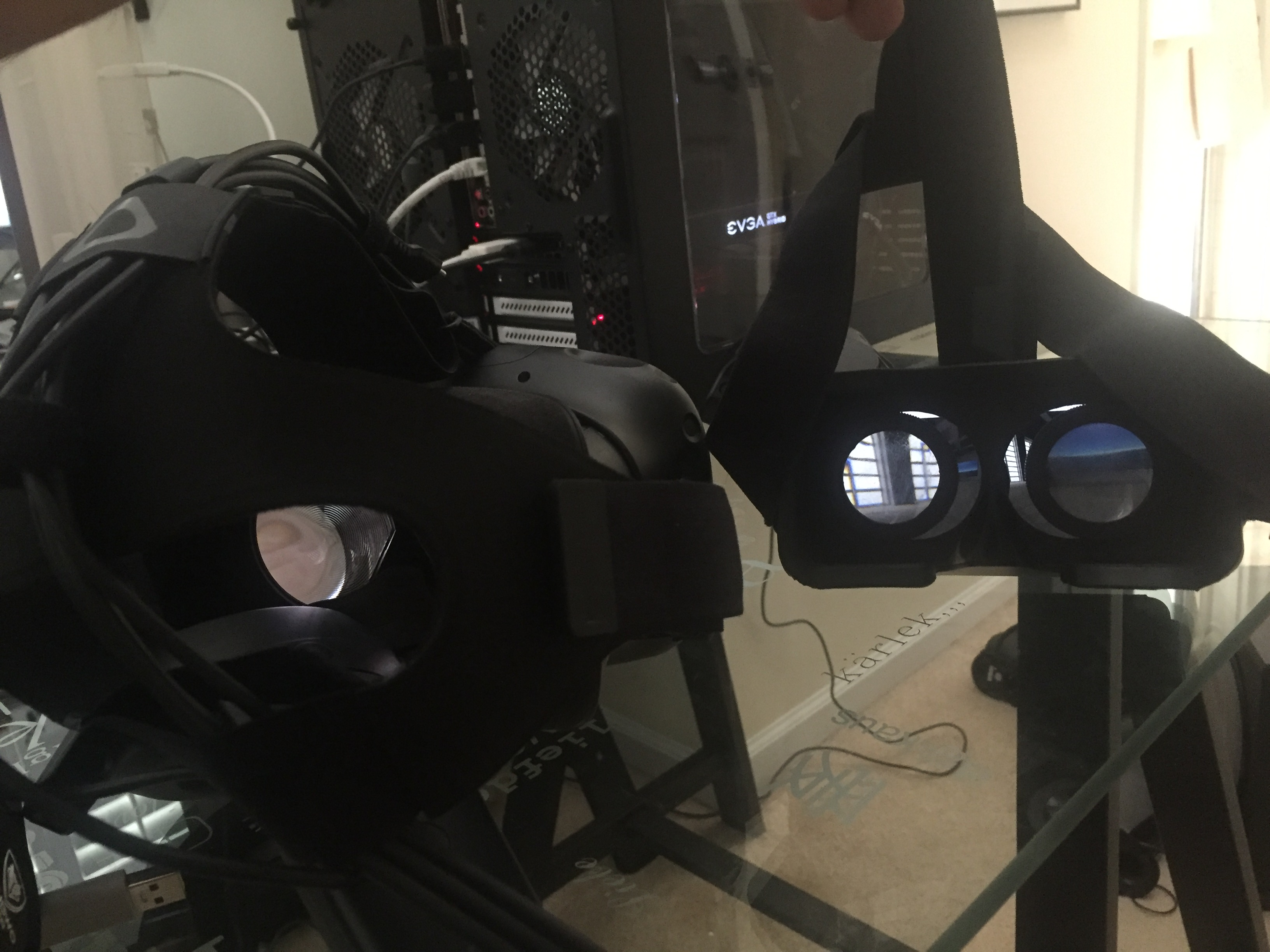 Wireless VR Streaming to an iPhone
